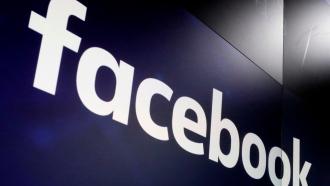 The logo for Facebook