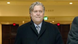 Former White House strategist Steve Bannon.