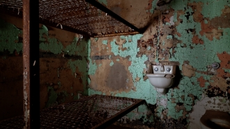 A cell at the Ohio State Reformatory