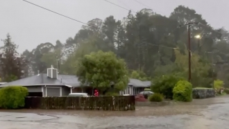 Flooding after extreme weather