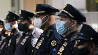 New York City Police Department officers.