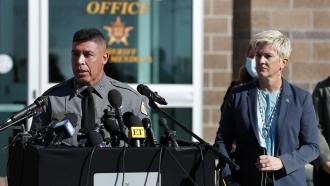 Santa Fe County Sheriff Adan Mendoza.