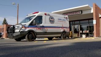 Northern Rockies Medical Center ambulance