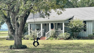 A house in rural Mississippi
