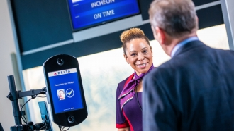 Delta Airlines is working with the TSA to put facial recognition software into its terminals.