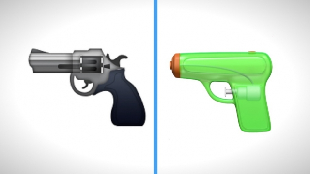 Apple Is Swapping Out The Gun Emoji For A Friendly Squirt