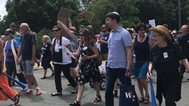 Jews in Charlottesville Faced A Summer Of Anti-Semitism