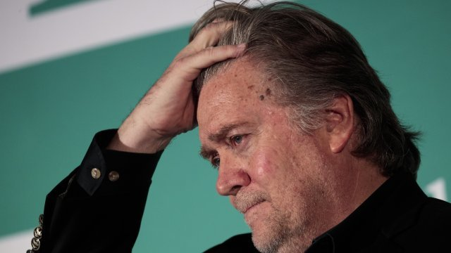 California GOP Looks To Steve Bannon To Unite The Party