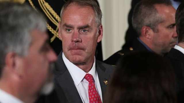 Secretary Zinke Questions His Department's Loyalty