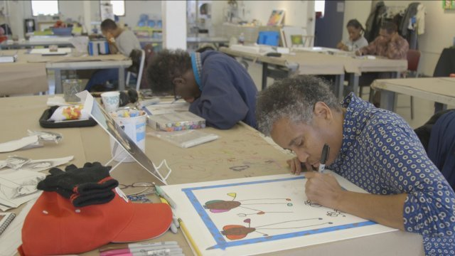 One-Of-A-Kind Studio Empowers Artists With Disabilities