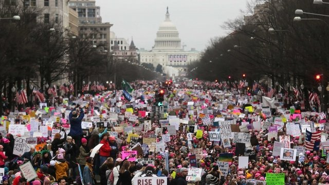 The History Of Women's Marches In The US