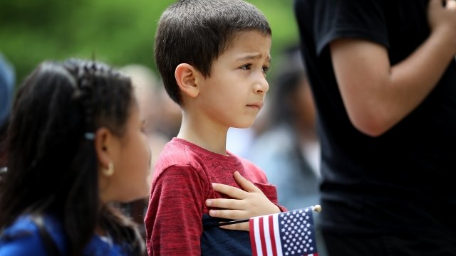 The Debate Continues Over The Pledge Of Allegiance In Schools