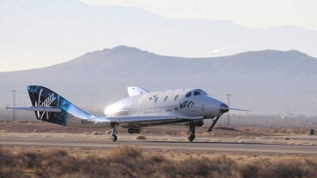 Virgin Galactic Successfully Tests Commercial Spacecraft (VIDEO)