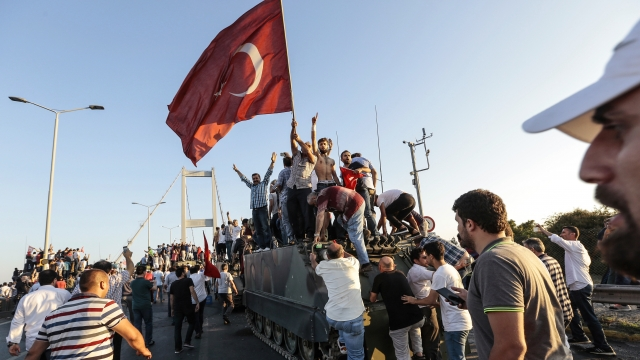 Turkey Orders Arrest Of 1,100 People Possibly Linked To Failed Coup
