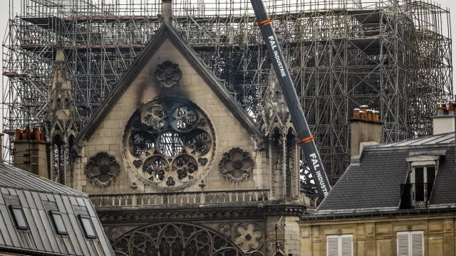 Notre Dame Cathedral Cleanup To Resume After Lead Concerns