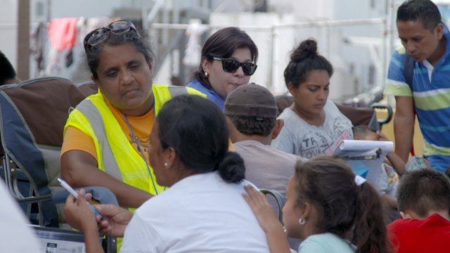 For Migrants Waiting In Mexico, Access To U.S. Lawyers Is A Rare Boon