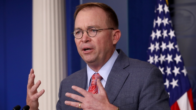 White House Chief Of Staff Walks Back Comment On Ukraine Aid