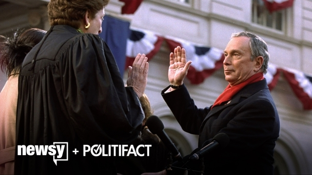 What The Fact: Michael Bloomberg On Crime