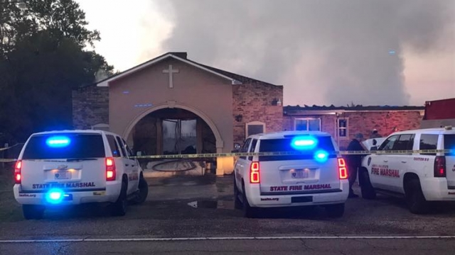 Louisiana Man Pleads Guilty To Setting Fires At Black Churches
