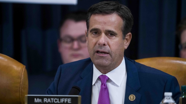 Ratcliffe Nominated For Director Of National Intelligence — Again