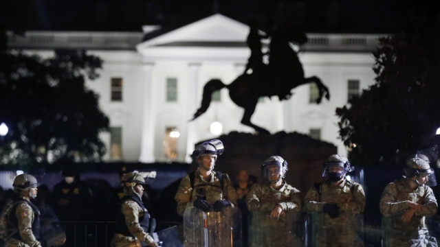 Army Says Active-Duty Troops Will Not Leave D.C. Region