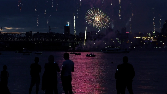 Would Going To See A Fireworks Display Be Risky?