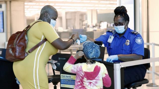 TSA Adds More COVID-19 Protections At Airports