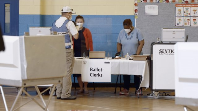 Vote Smarter 2020: Who's Allowed To Be Inside Polling Places?