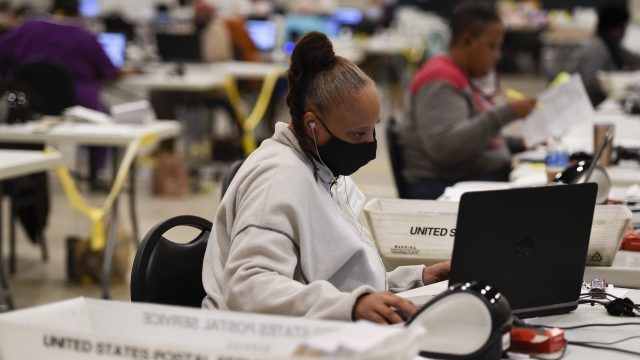 Reports: Record Number Of Absentee Ballots In Georgia Runoff