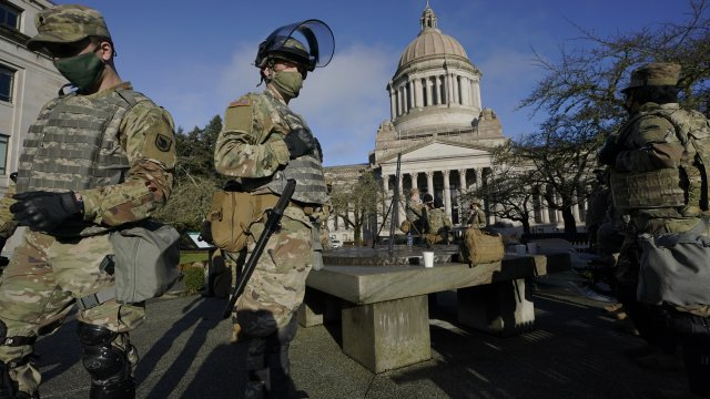 Nationwide Statehouses, D.C. Prepare for Potentially Violent Week