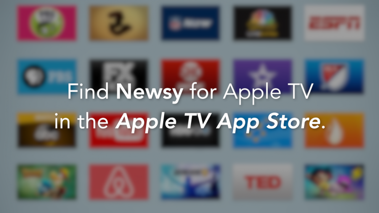 Check Out Newsy's New Apple TV App (VIDEO)