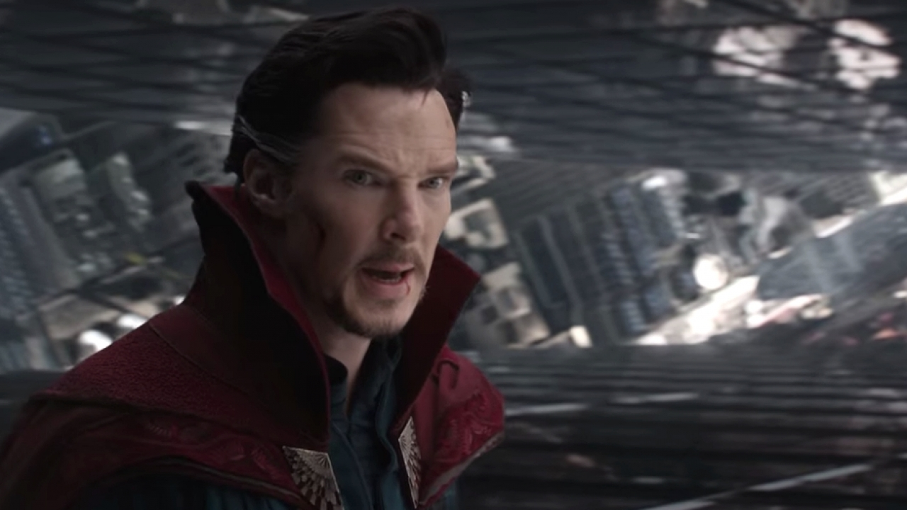 Benedict Cumberbatch as Dr. Strange.