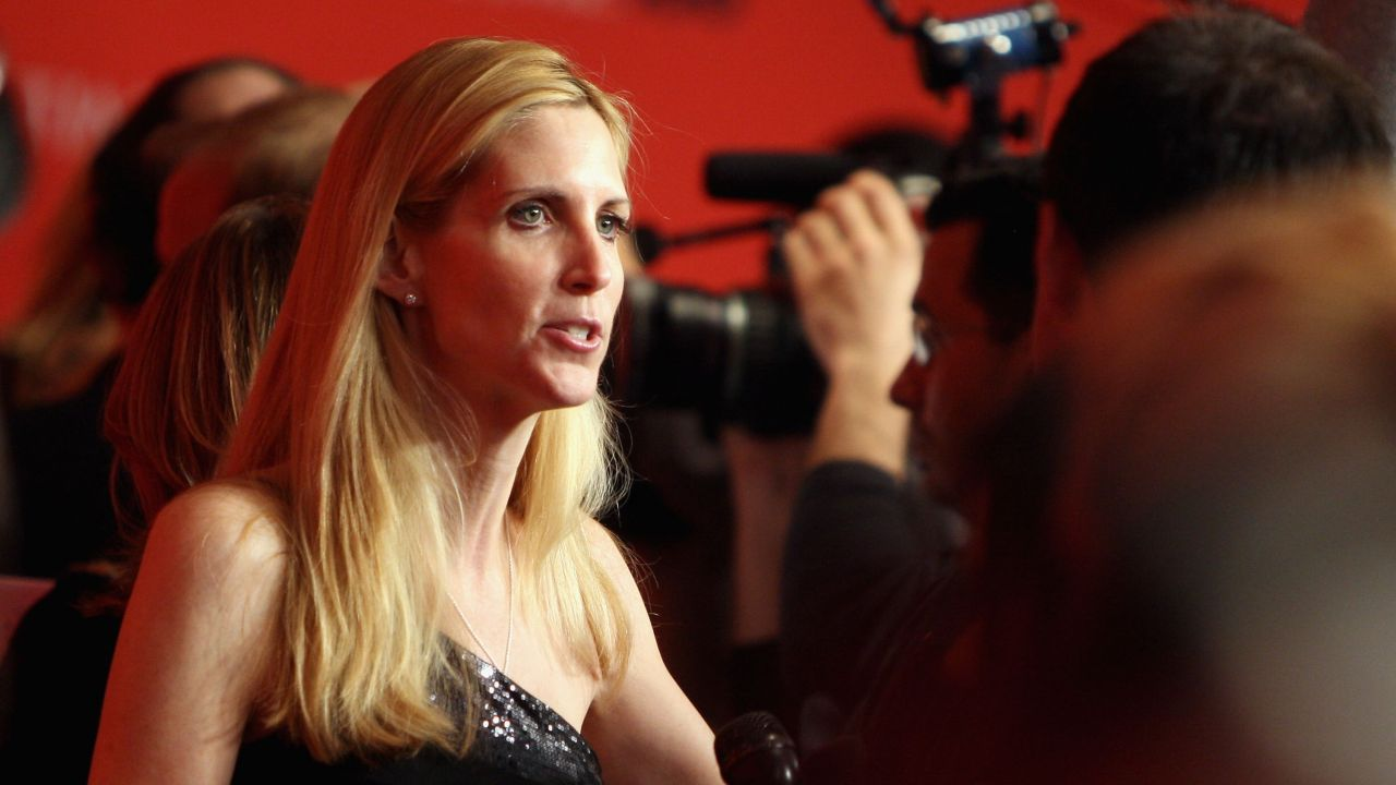 Ann Coulter attends a gala in New York.