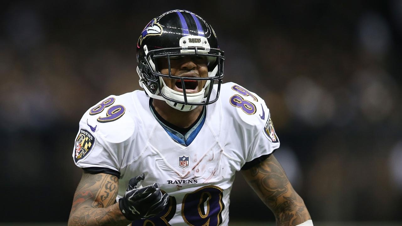 Baltimore Ravens wide receiver Steve Smith Sr.