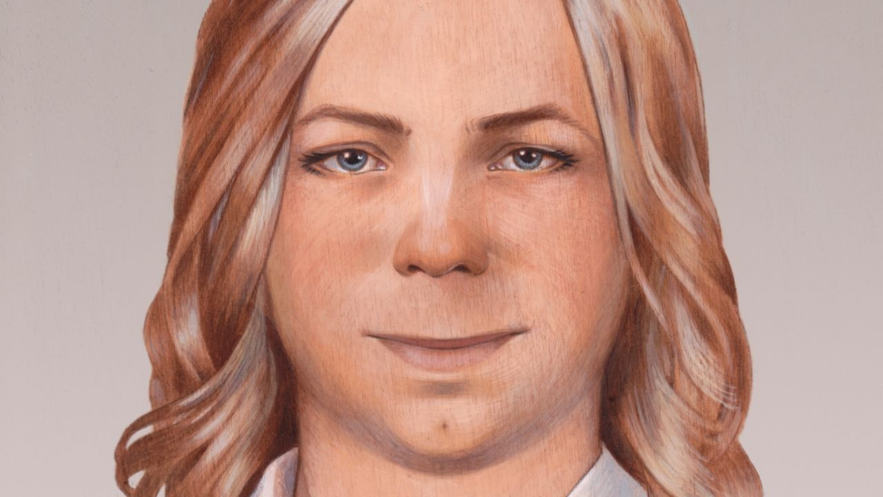 Painting of how Chelsea Manning sees herself