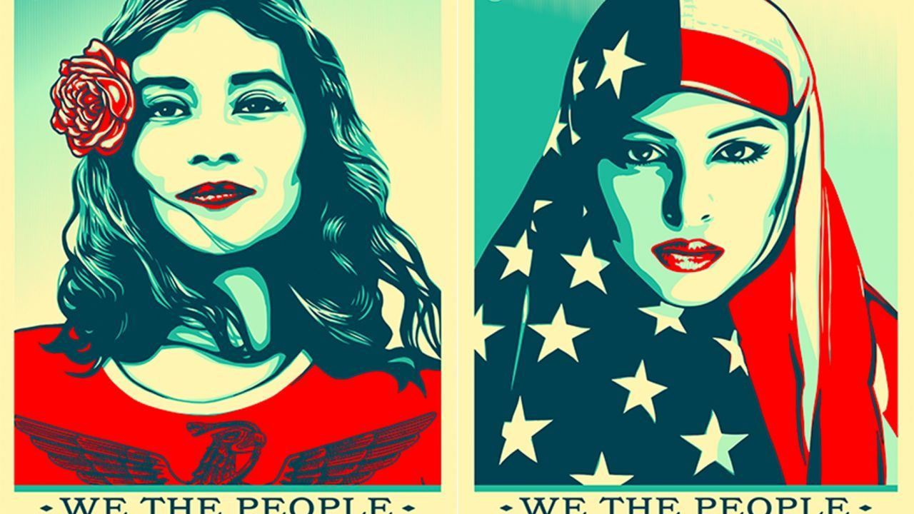 """""""We the People"""" posters"""