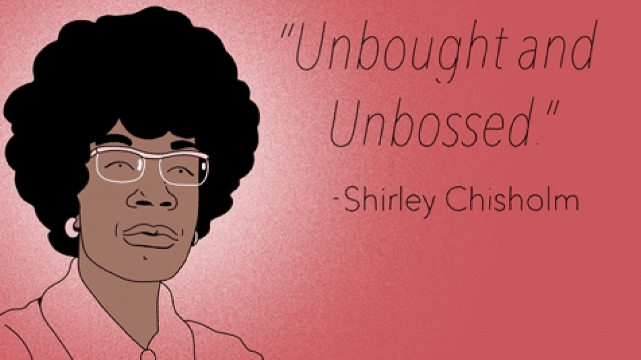 illustration of Shirley Chisholm