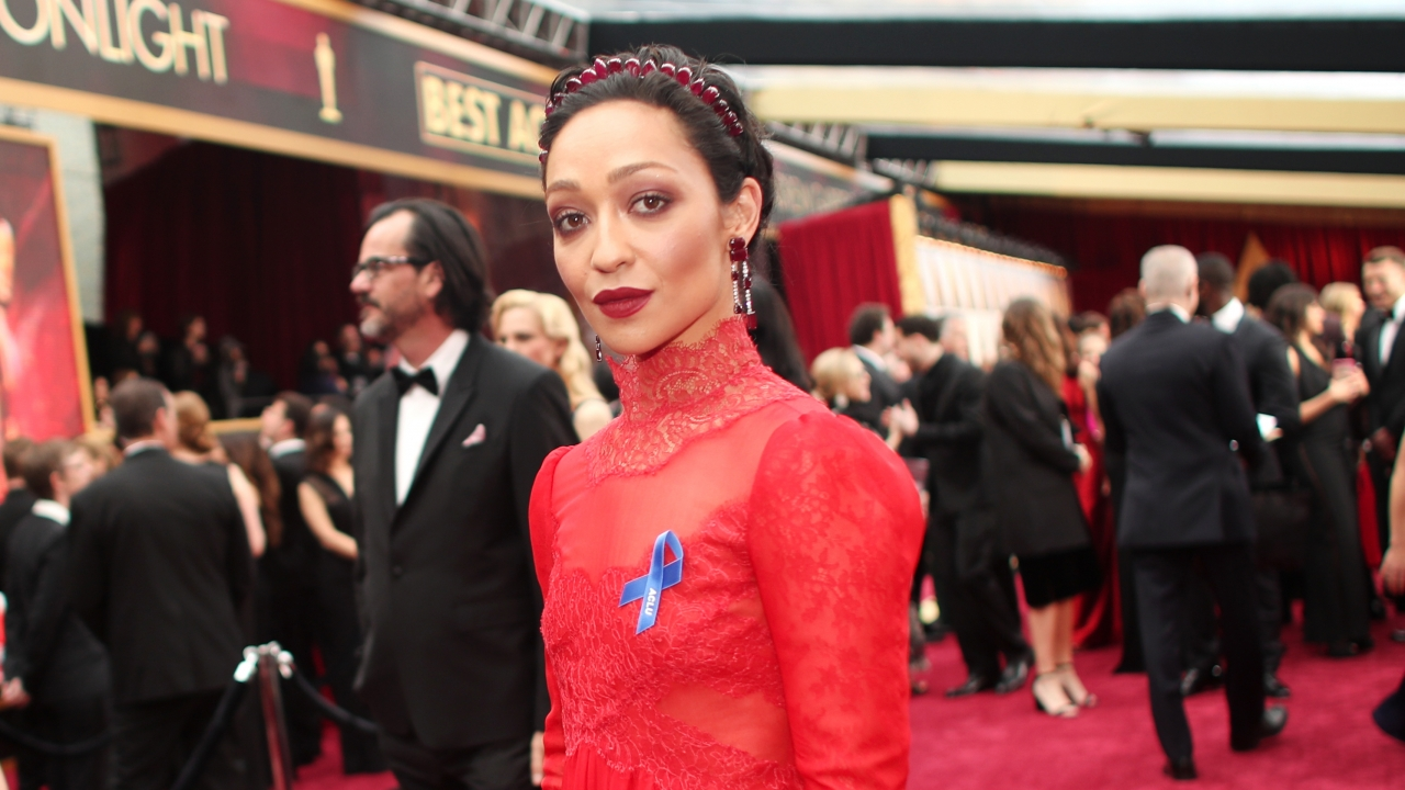 Ruth Negga at the 2017 Oscars