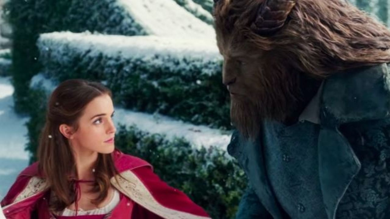 "A still from the upcoming ""Beauty and the Beast"" movie"