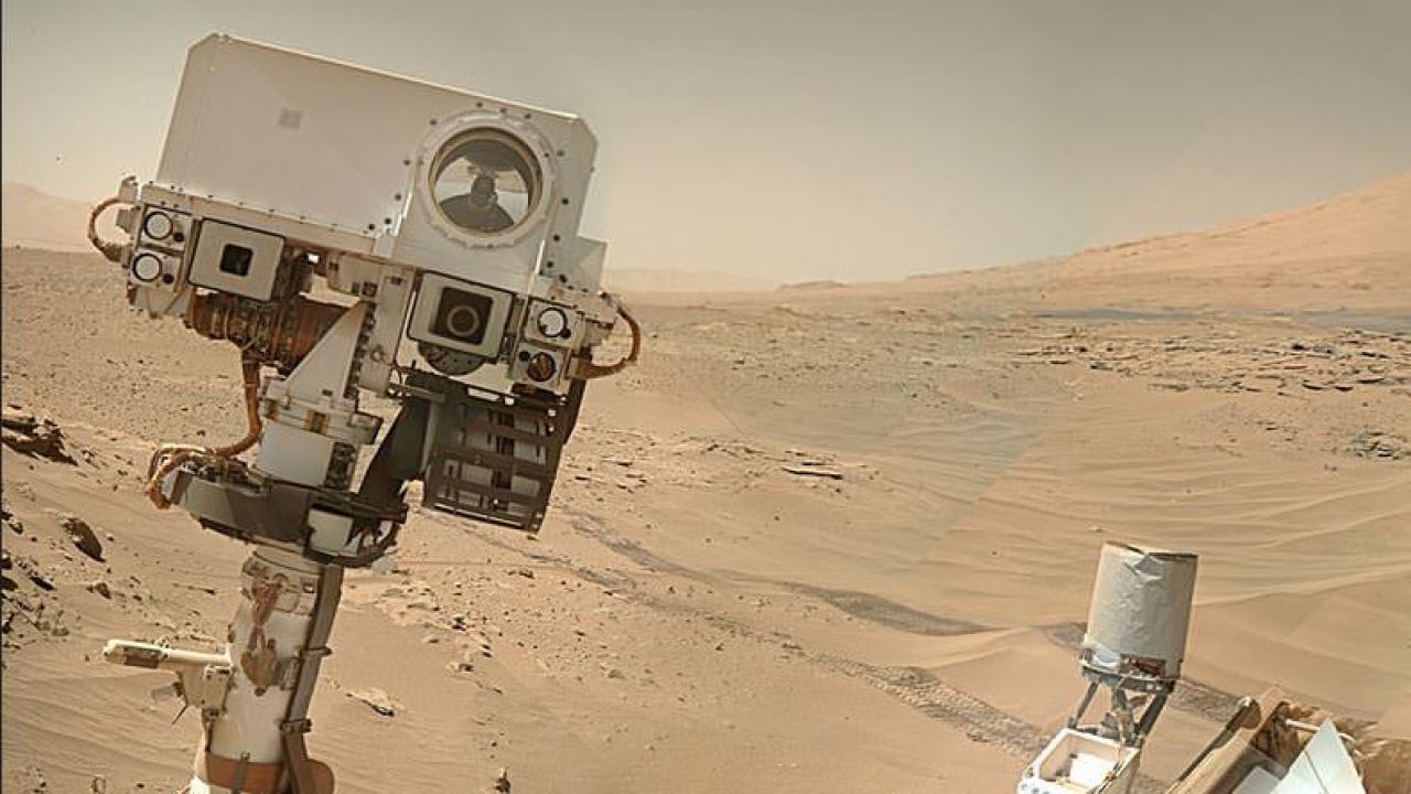 NASA's Curiosity Mars rover selfie