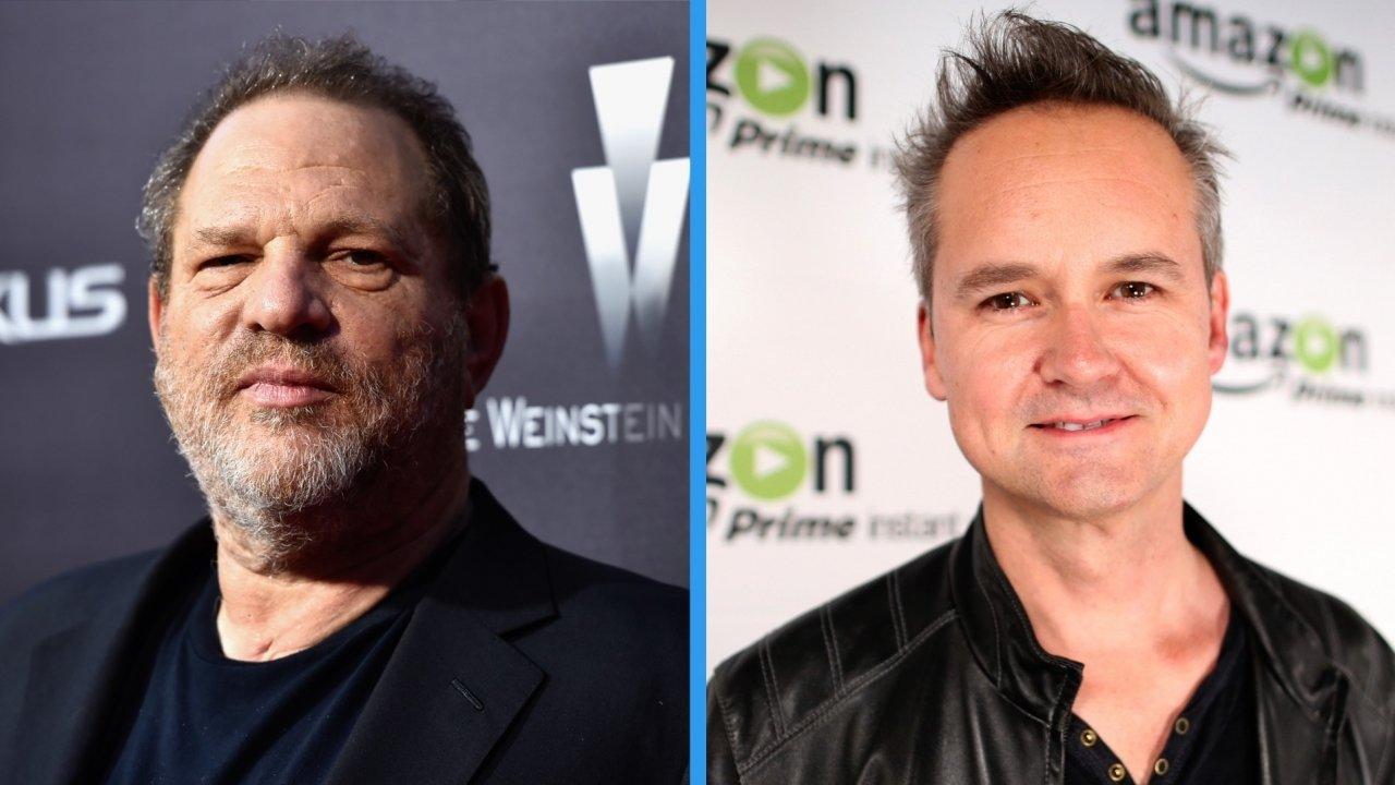 Harvey Weinstein (left), Roy Price
