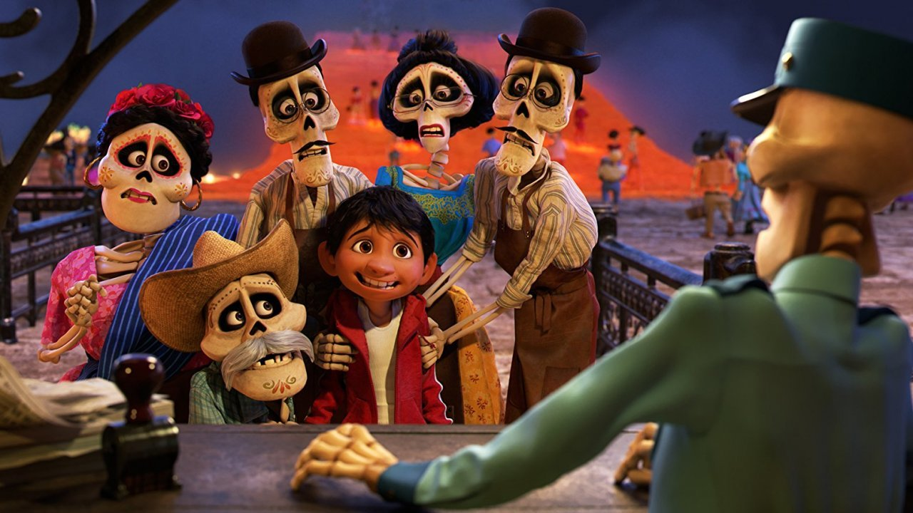 """Characters in Pixar's """"Coco"""""""