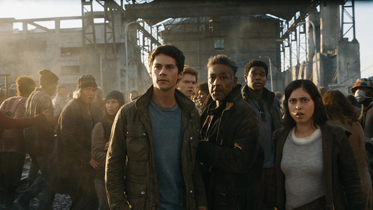 "Dylan O'Brien in ""Maze Runner: The Death Cure"""