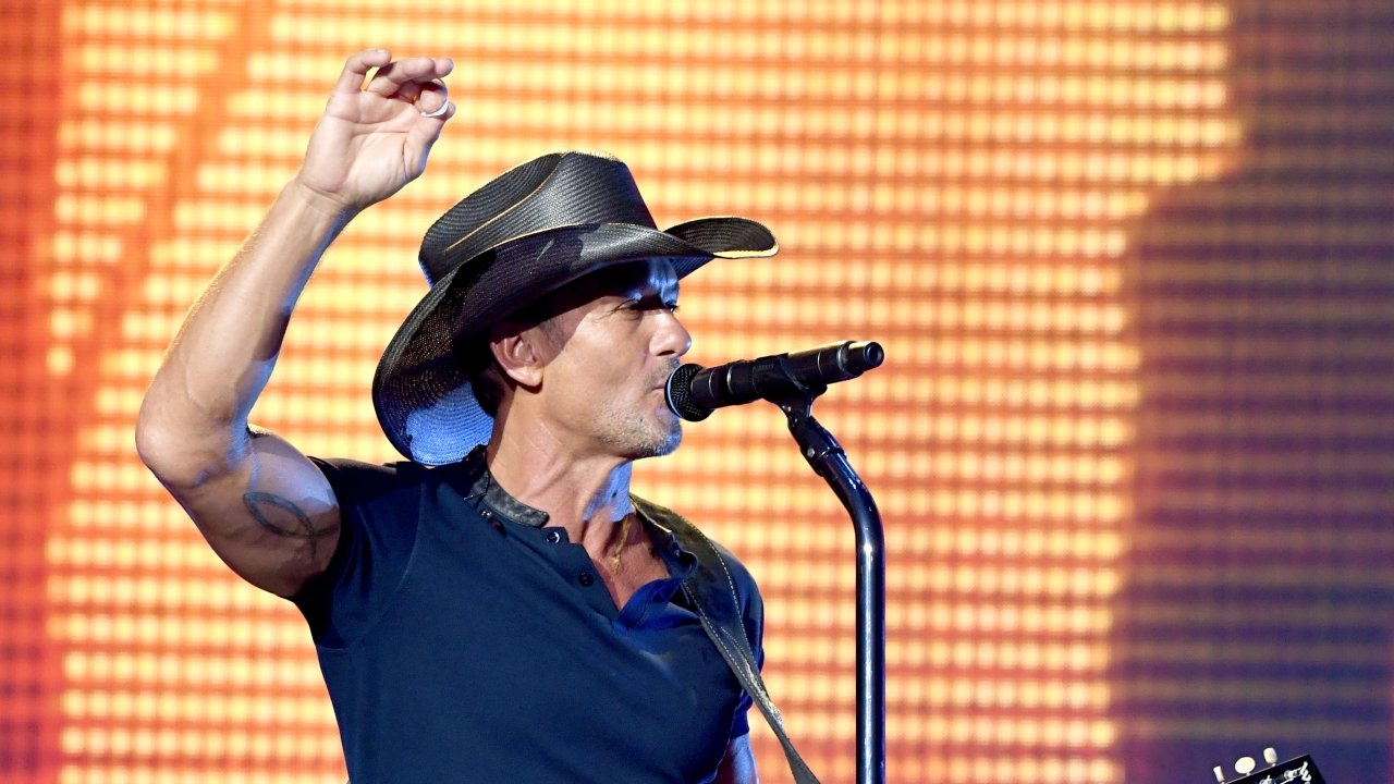 Tim McGraw at Staples Center in Los Angeles