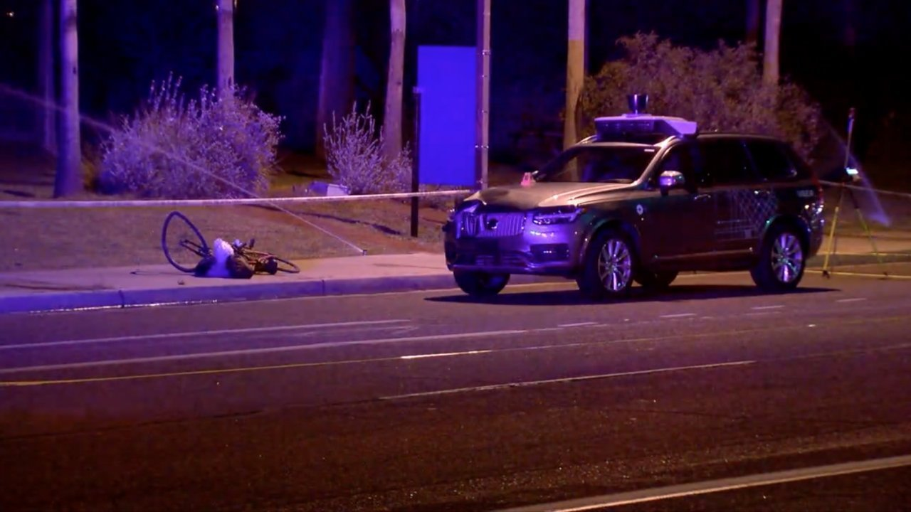 Uber Suspends Autonomous Car Tests After Fatal Crash (VIDEO)