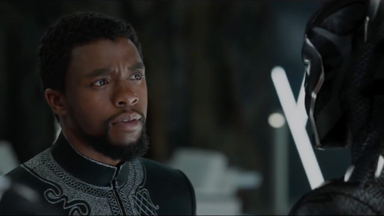 "A scene from ""Black Panther"""