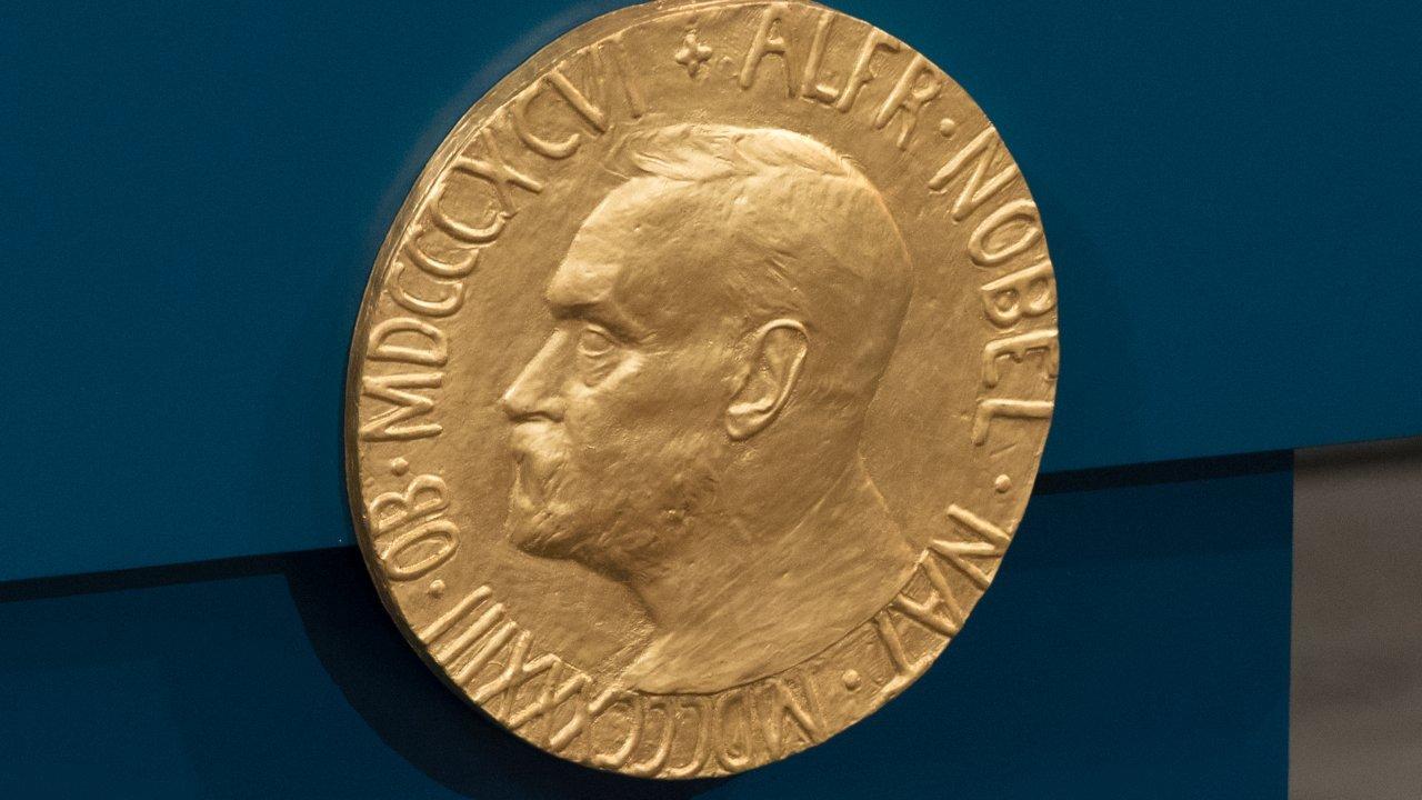 Plaque at Nobel Peace Prize ceremony