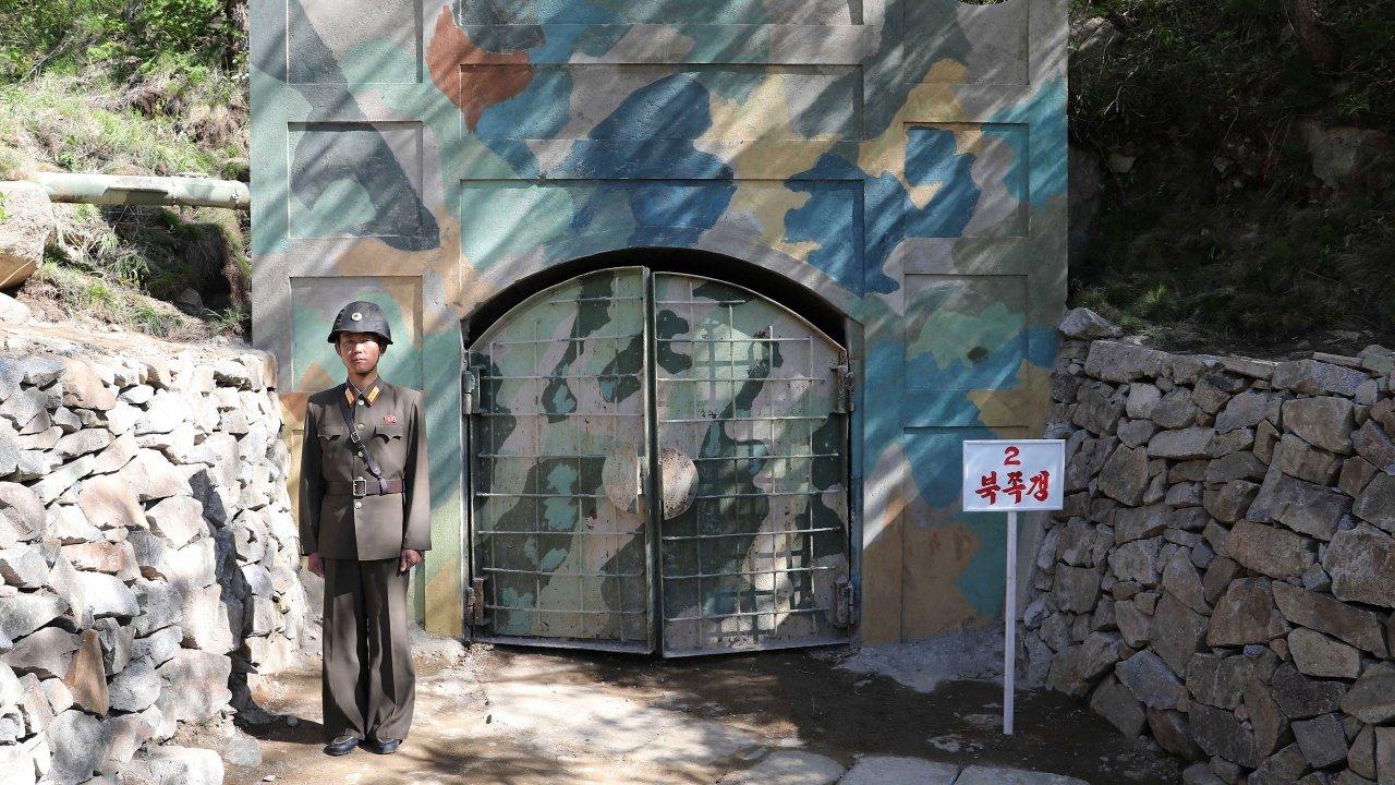 North Korean nuclear test site