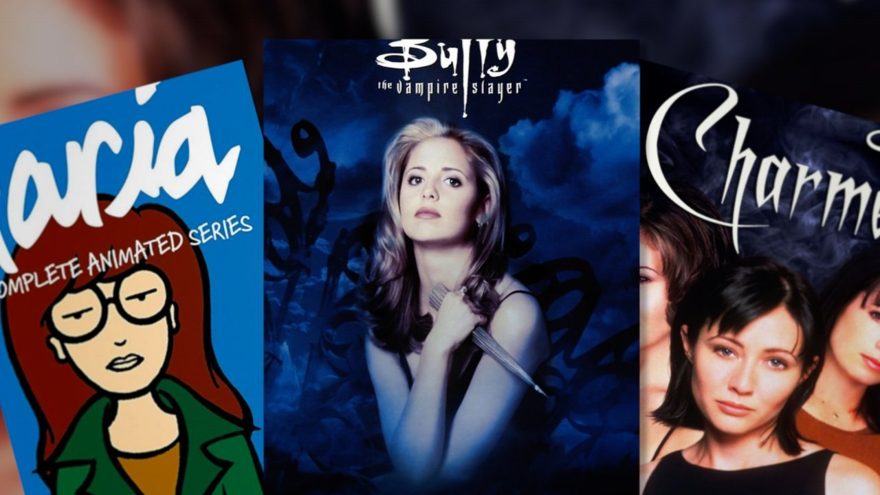 "Posters for ""Daria,"" ""Buffy the Vampire Slayer"" and ""Charmed"""