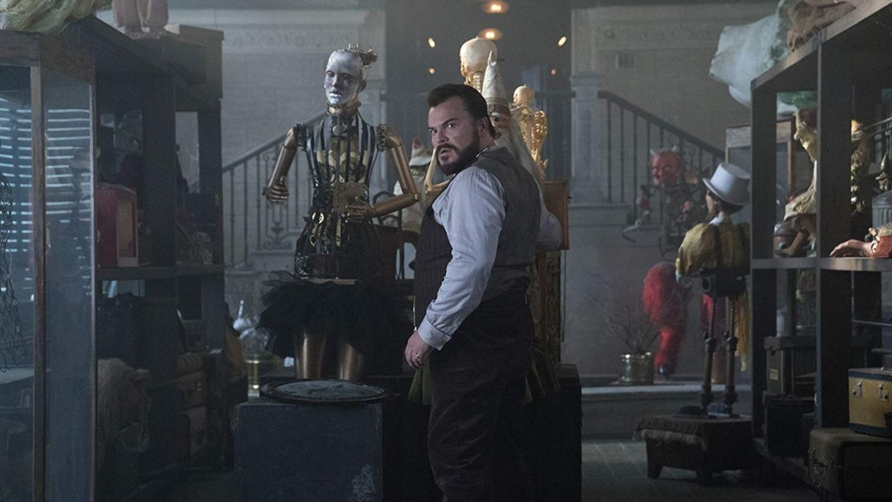 """Jack Black in """"The House with a Clock in Its Walls"""""""